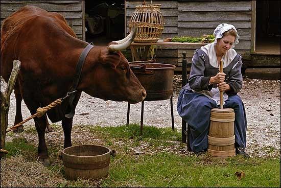 butter woman
